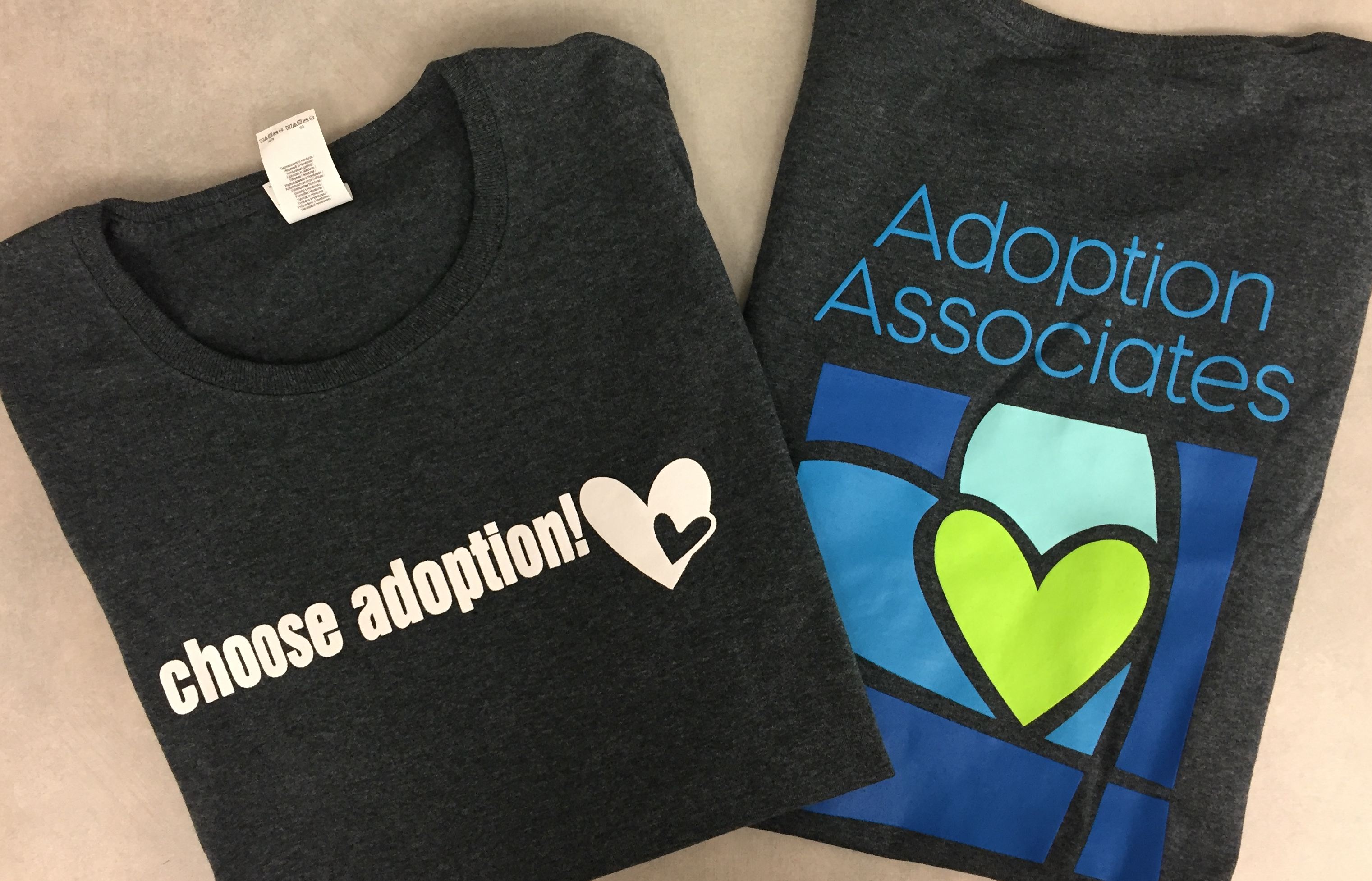 'Choose Adoption!' Shirts Still Available in Some Sizes